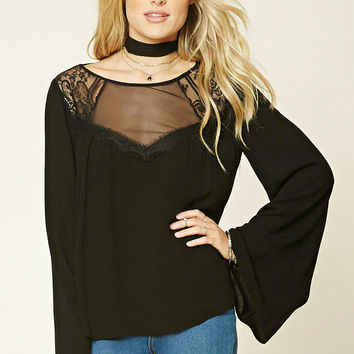 Contemporary Mesh-Panel Top