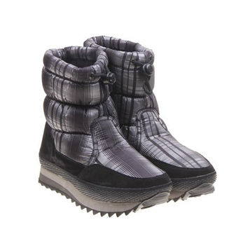 Casual Women's Short Boots With Rubber and Imitation Fur Design NOT FOUND