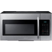 Samsung 30 in. W 1.6 cu. ft. Over the Range Microwave in Stainless Steel ME16H702SES at The Home Depot - Mobile
