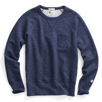 Classic Pocket Sweatshirt in Indigo Heather