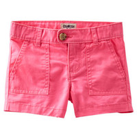 4-Pocket Twill Shorts