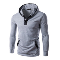 Long Sleeve Korean Tee Slim Men Pullover Plus Size T-shirts = 6458673795