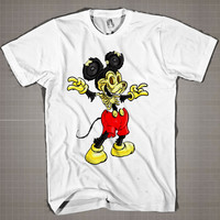 Natures Mistake-Mickey Mouse  Mens and Women T-Shirt Available Color Black And White