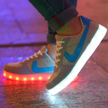Lace Up Nike Led Sneakers