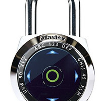 "Master Lock 1500eXD Wide DialSpeed Set Your Own Combination Digital Padlock for Indoor Use Only, 2-1/16"", Assorted"
