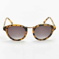 Profound Aesthetic X UO Tort Metal Nose Round Sunglasses- Brown One