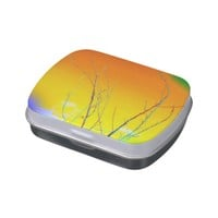 Tree Branches Jelly Belly Candy Tin.