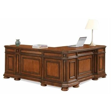 Riverside Furniture Cantata L Shaped Desk and Return