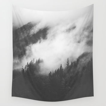 PNW Storm II Wall Tapestry by Luke Gram