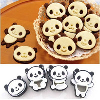Panda Baking Cookies Cutter Cake Decoration