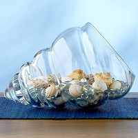 Shell Glass Bowl | Decorative Accessories| Home Decor | World Market