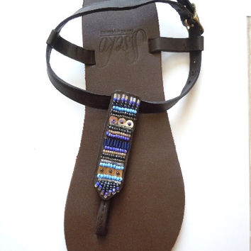 Sseko T-Strap Sandal Accent Pieces- Options