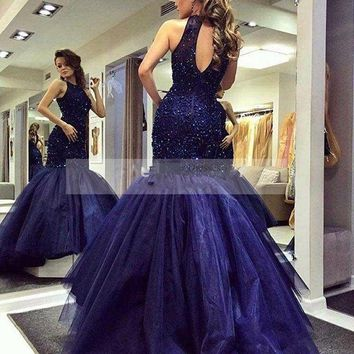 Sparkly Long Mermaid Prom Dresses for Girls Sale Fishtail Evening Dress Party for Graduation Promdre