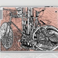 Fixed Gear Bicycle Laptop & iPad Skin by Romi Vega | Society6
