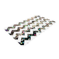 "Beth Engel ""After Party Chevron"" Woven Area Rug"