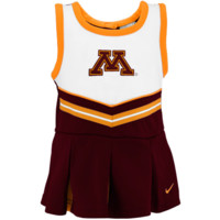 Nike Minnesota Golden Gophers Preschool Girls Maroon 2-Piece Cheerleader Dress Set - http://www.shareasale.com/m-pr.cfm?merchantID=7124&userID=1042934&productID=528464579 / Minnesota Golden Gophers
