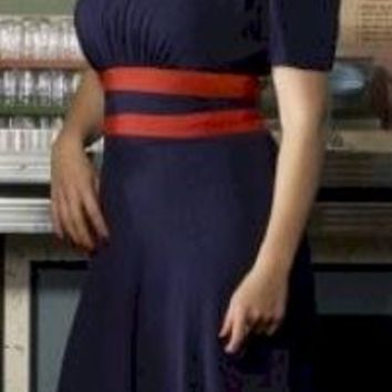 Agent Carter in Blue Cosplay Inspired Dress  - Free Custom Sizing