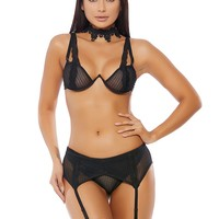 Coqueta Garter Belt Set