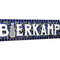 Personalized Mosaic Name Sign -- Custom Gift Idea