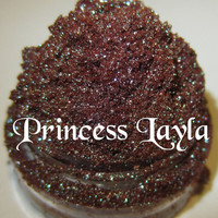 NEW Princess Layla Amazing Aqua Blue / Brown Duochrome Mineral Eyeshadow Mica Pigment 5 Grams Lumikki Cosmetics