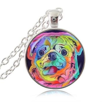 Pug  Lovers Necklace