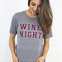 Wine Night Tee