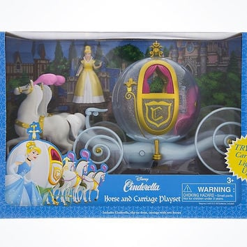 Disney Parks Cinderella Horse & Carriage Play Set New with Box