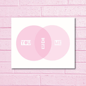 PRINTABLE Quote Art // love quote, cute quote, nursery quote, quote poster, nursery art, nursery print, pink, family quote, family poster