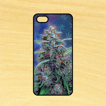 Space Kush Plant iPhone 4/4S 5/5C 6/6+ and Samsung Galaxy S3/S4/S5 Phone Case