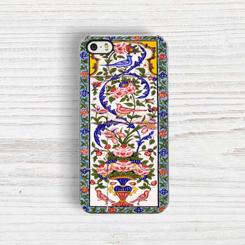 ANCIENT Floral Tiles iPhone 5 case, Ancient iPhone 5S Case, Middle Eastern Pattern iPhone 4 Case, Boho iPhone 4S, Floral iPhone 5C case