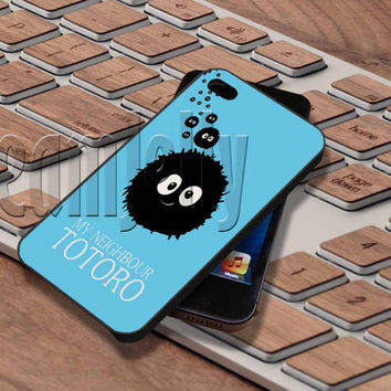 Soot Balls Totoro Cover - iPhone 5/5S/5C/4/4S, Samsung Galaxy S3/S4/S5