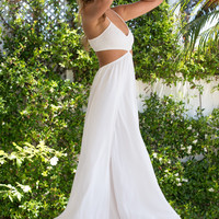 Indah || Innocence maxi dress in ivory