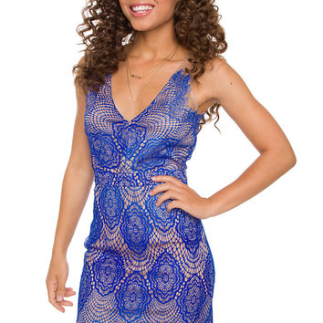 Lilycove Dress - Blue