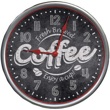 Westclox It's Time For Coffee Clock