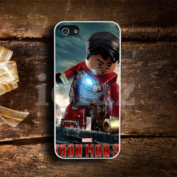 iRon Man 3 Lego Design mobile Phone case