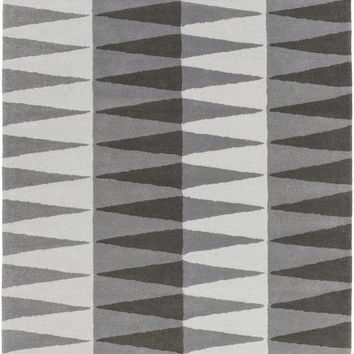 Surya Mod Pop Geometric Gray MPP-4514 Area Rug