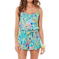 Lilly Pulitzer Deanna Tank Top Romper