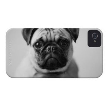 Puppy Pug Dog Case-Mate iPhone 4 Case from Zazzle.com
