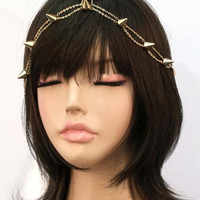 Spiked Chain Headpiece | ACCESSORIES Head Chains | BOGATTE