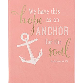 Christian Collection  Bible Journal, Anchor