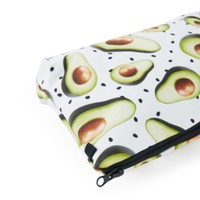 Avocado Themed Accessory Case