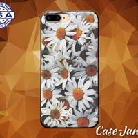 Daisy Flower White Bush Floral Tumblr Inspired Cute Case iPhone 5 5s 5c iPhone 6 and 6+ and iPhone 6s iPhone 6s Plus iPhone SE iPhone 7 +