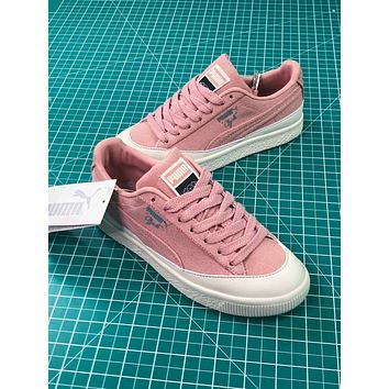 Diamond Supply Co. X Puma Clyde Pink Women's Sneakers Shoes - Sale