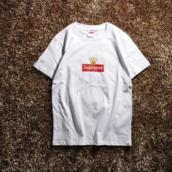 Cheap Women's and men's supreme t shirt for sale 85902898_0057
