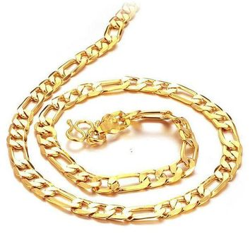 PEAPJ1A 18k Gold Plated Chain for Men F
