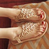 Boho Sandals Casual Beach Wear