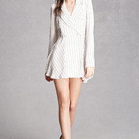 Pinstripe Mini Dress