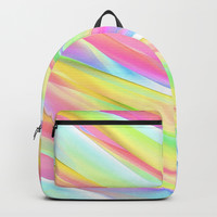 Floating Colors Backpack by kasseggs