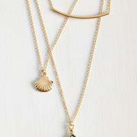 The Sea's Sparkle Necklace | Mod Retro Vintage Necklaces | ModCloth.com