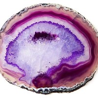 Agate Trivet, Purple